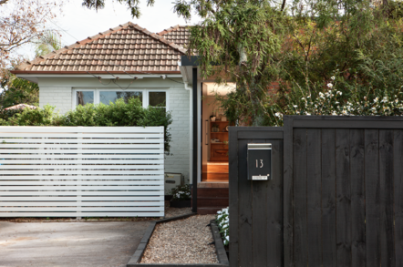 garden design front entrance takapuna
